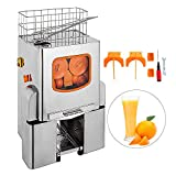 Buoqua orangenpresse automatisch 120W Orangensaftpresse elektro Zitruspresse 22-25 Orangen/Min Orange Juice Machine professional orange squeezer (XC-2000E-3)