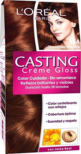 L'Oreal Paris Casting Créme Gloss Coloración Sin Amoniaco, Tono: 554 Chocolate