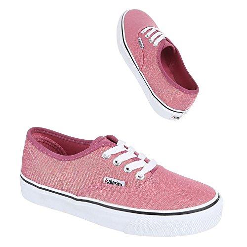 Ital-Design - Pantofole Donna Rosa (rosa)
