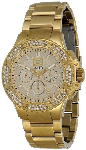 Marc Ecko - E22550G1 - Montre Mixte - Quartz Chronographe - Bracelet Acier Inoxydable Doré