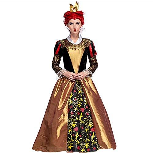 Herzen Leicht Der Kostüm Königin - AIYA Die Königin der Herzen COS-Kostüme Das Retro-Gericht kleidet Halloween Poison Queenswear
