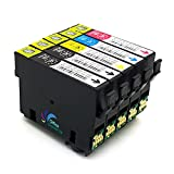 5 Druckerpatronen kompatibel zu Epson T29 XL T2991 - T2994 T29XL EPSON XP235 XP332 XP335 XP432 XP435
