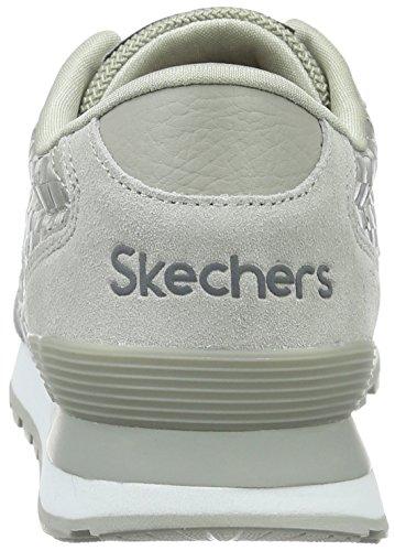 Skechers Og 82bweaver, Baskets Basses femme Gris - Grau (GRY)
