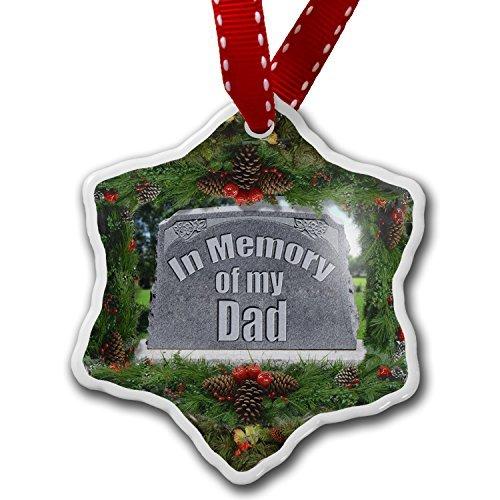 Neuheit Weihnachtsschmuck in Memory of My Dad R.I.P Ornament Craft Crafts Xmas Tree zum Aufhängen