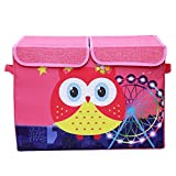 UberLyfe Pink Foldable Kids Toy Storage ...