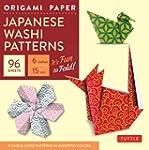 Origami paper japanese washi patterns...