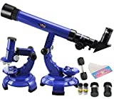 2 in 1 Telescope & Microscope Set Science Nature Educational Astronomy Learning Kids Toy