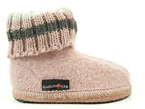 Haflinger 631051 Paul chaussons d'intérieur fille Rose