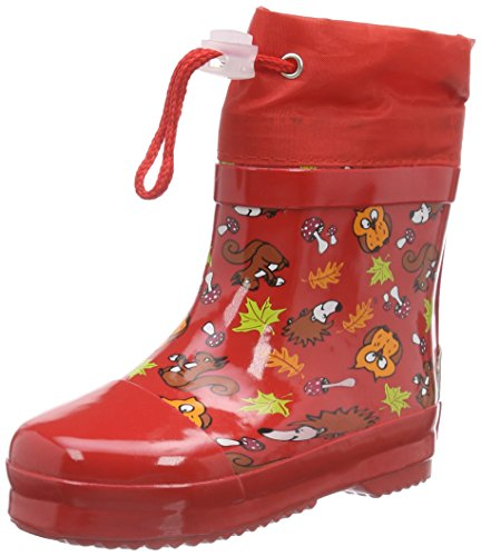Playshoes GmbH Rubber Forest Animals Lined, Unisex Kids