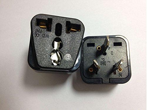 Preisvergleich Produktbild 2 x Reisestecker / Reiseadapter / Travel Plug / Adapter aus Deutschland / Europa Nicht Schutzkontakt Reiseadapter for Australien und Neuseeland