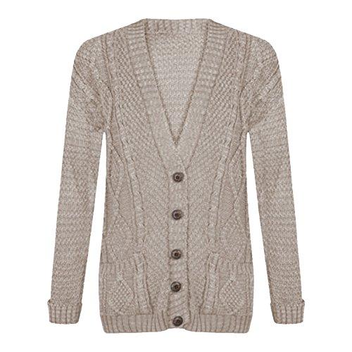 Gugu Fashion - Gilet - Femme Stone