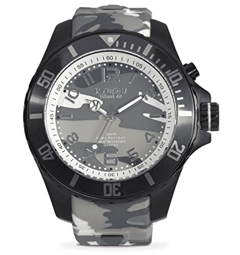 KYBOE! URBAN CAMO CS.48-002.15 Mens Grey Camo LED Watch