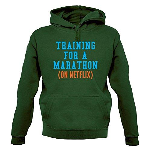 training-for-a-marathon-on-netflix-unisex-sweat-pull-vert-fonce-m