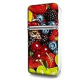 Kühlschrank-Folie Früchte selbstklebend mehrere größen   Sticker-folie   Klebefolie   Kühlschrank-Aufkleber   Küche   Deko-folie   Möbel-folie