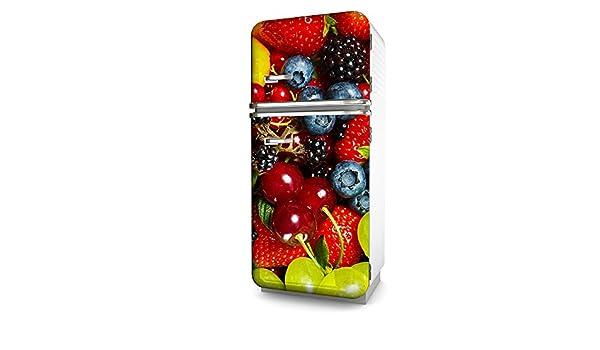 Kühlschrank Folie : Kühlschrank folie früchte selbstklebend mehrere größen sticker