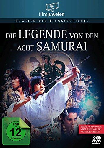Die Legende von den acht Samurai (Die Legende der 8 Samurai) - DDR-Kinofassung + Extended Version (Filmjuwelen) [DVD]