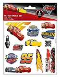 Craze 57675 - Tattoo Mega Set Disney Pixar Cars 3, 3 Bögen Tattoos, Sortiert