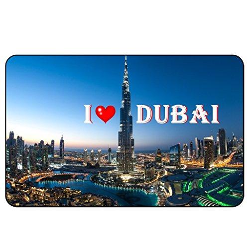 Cadora Magnetschild Kühlschrankmagnet I Love Dubai I (Ostern Kühlschrank-magnete)