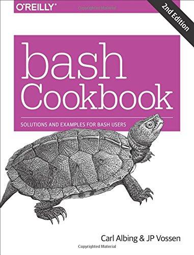 bash Cookbook 2e