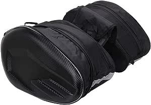 Jfg Racing Motorrad Satteltaschen Wasserdicht 36 L 58 L Für Reisegepäck Mit Erweiterbare Kapazität Auto