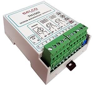 Centralina automazione tapparelle a motore per comando singolo e centralizzato TM1000