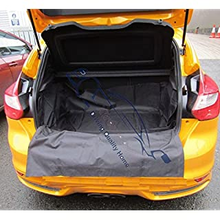 XtremeAuto® Universal Direct Fit Advanced Black Car Boot Liner Protector Complete With Bumper Flap