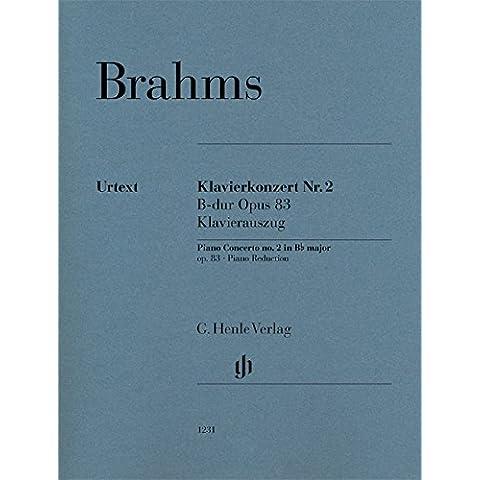 Concerto pour Piano N  2 en Si Bemol Majeur Op. 83