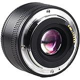 Yongnuo Objectif à focale fixe YN 35 mm F2 grand ouverture AF / MF pour Canon EF appareil photo + Sac de transport