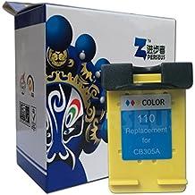 Perseus® Reemplazo para HP 110 Tri-Color Cartuchos de tinta Alta Capacidad Remanufacturado Compatible con PhotoSmart A433 A343 A440 A441 A444 A516 A526 A532 A618/A626 A636 A646 A717 A826 Impresora
