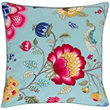 PiP Studio Throw pillow Floral Fantasy - blue - 45x45