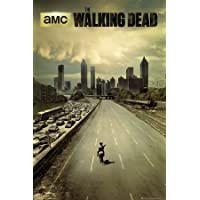 Póster The Walking Dead - city - cartel económico, póster XXL
