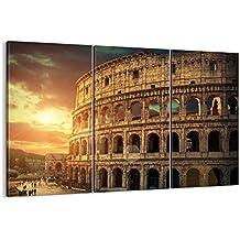 Cuadro sobre lienzo - 3 piezas - Impresión en lienzo - Ancho: 105cm, Altura: 70cm - Foto número 2966 - listo para colgar - en un marco - CE105x70-2966