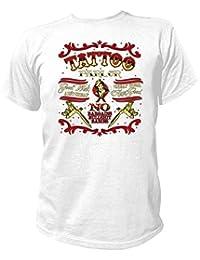Artdiktat T-Shirt Camiseta para hombre - TATTOO PARLOR - GOOD WORK AINT