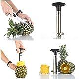Skyfish Stainless Steel Pineapple Peeler Pine Apple Slicer Kitchen Easy Gadget Slicer Cutter Fruit Peeler