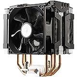 Cooler Master Refroidisseur de processeur Hyper D92, double 92mm ventilateurs en configuration push-pull, 4contact direct haute performance, support Intel LGA2011/1156/1155/775, AMD FM1/AM3+/AM3/AM2+/AM2