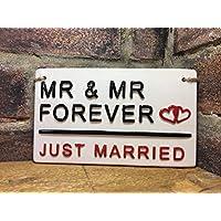 Mr & Mr-Just Married-LGBT-London Street Sign