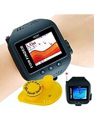 Reloj Buscador de peces inalámbrico Fish Finder + Sonda wireless (FF518)