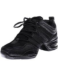 Zapatillas De Danza Baile De Jazz Hip Hop Zapatos Para Mujeres Negro