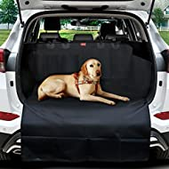 MATCC Car Boot Liner Protector for Dogs Non Slip Car Boot Protector with Bumper Flap Universal Waterproof Car Boot Cover Mat Dog Blanket fits Cars, 4x4, Estate, Trucks, Hatchback, SUV