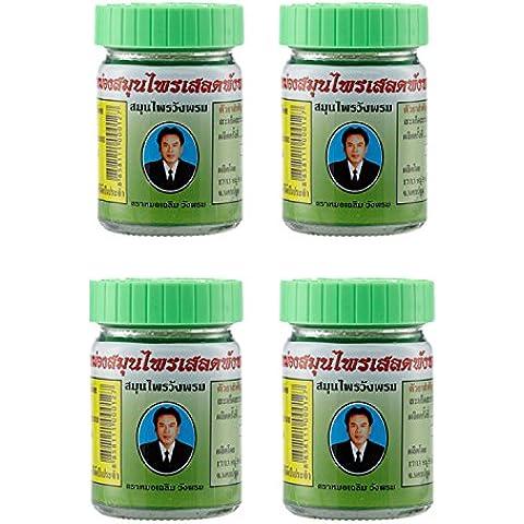 wangphrom Thai Creme Gel di massaggio alle erbe. Barleria lupulina