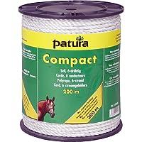 Patura Compact Seil, 200 m Rolle 6 Niro 0,20 mm, weiss
