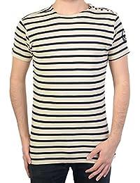 Camiseta Geographical Norway Jorel SS Men 401 White / Navy