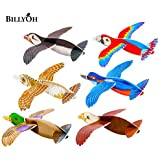 Pack of 12 bird gliders - Ideal for children's party bags - The Harlequin Brand