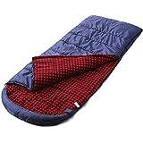 Camp Solutions Forradas con franela Saco de dormir - Clima extremo -25 Grado XXL 231 x 91,4 cm (91 x 36 pulgadas) C0021