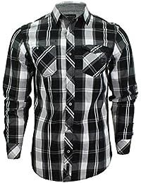 Chemise à carreaux à manches longues 'Distrikt' par Dissident pour homme