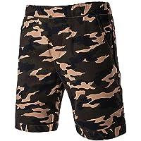 YYNANKU TT&MEN'S PANTS Männer sind normal in der Mitte>75% Shorts Hosen, Vintage feste Baumwolle Leinen Bambusfaser Acryl Feder, l