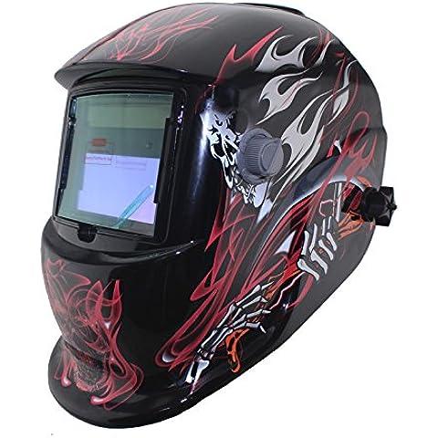 Fuego nuevo de soldar Solar y careta de soldar soldador ARC TIG MIG máscara gorra cascos