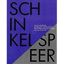 SCHINKEL / SPEER: Eine architektonische Auseinandersetzung mit dem NS (Vorlesung von 1978)
