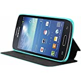 Mocca Design ERSA65 Etui flip pour Samsung Galaxy Core 4G Turquoise