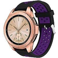samLIKE Pulsera de Silicona para Samsung Galaxy Watch–Suave Transpirable Perforado Ajustable Brazalete Deportivo para Hombre y Mujer, para Samsung Galaxy Watch 42mm, Color ❤️ F